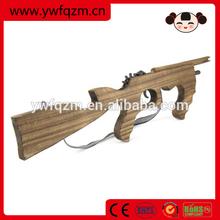 Wooden sniper rifles toy guns