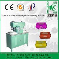professional manufacture paper kfc box and meal box machine
