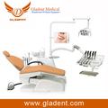 De lujo de luz led mejor- modelo de la venta de la unidad dental de acrílico de la prótesis parcial