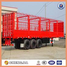 Enclosed cargo trailer, motorcycle cargo trailer , 3 axles cargo semi trailer