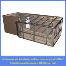 high quality sun room, laminated glass, anti-sound, wind-proof