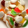 Sabores misturados sem açúcar gomoso doces macios doces
