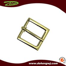 Fashion brass handbag custom logo metal buckle