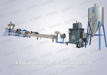 PP/PE/ABS plastic pellets granulator machine