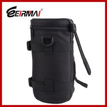 Eirmai EMB-L2060 600D nylon camera lens pouch bag with shoulder strap easy soft camera pouches