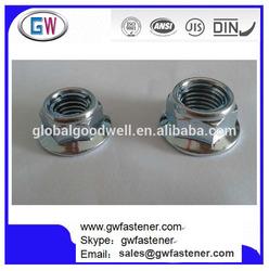 Hex Head Flange Fuji Style Metal Locking Nuts