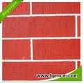 Eco- ambiente engery- ahorro de espesor 2~5mm flexible al aire libre material de arcilla de color rojo y de color teja de barro