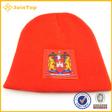 Jointop Popular Woven Label Knitted Hat And Cap For Baby