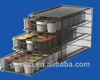 Ekobrew Keurig K-cup Storage Drawer Coffee Holder for 54 K-cups (Grey)