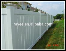 ASTM Certified used vinyl fence for sale 100% New Vinyl