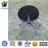 Round Metal Tables Garden Metal Top Round Dining Table for Outdoor