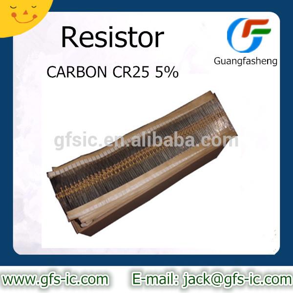 RESISTOR CARBON CR25 5% 10K