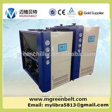 Latte industriale chiller di raffreddamento/latte acqua di raffreddamento pianta con programma customed