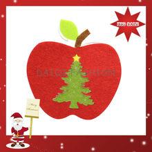 2014 Newest Fashion Christmas Decoration,Christmas Hanging Apple Decoration ,Wholesale Cheap Christmas Decorations