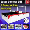 Cycling Apparel Cutting Machine / Printed Fabric Cutter / Sportswear Cutting Laser