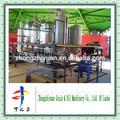 1TPD a produção de biodiesel planta óleo de cozinha usado para o biodiesel