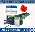Excelente calidad y bajo precio rollo que forma la máquina de metal y equipos de procesamiento de