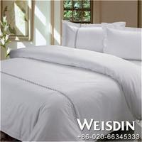 jacquard new design flax and linen bedding set