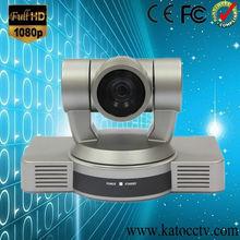 With OSD, VISCA, Pelco P&D protocols 1080P 2.07 megapixels,10X optical zoom remote control video conference camera KT-HD20D