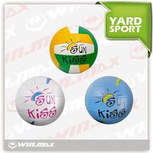 Winmax brand PVC machine stitched promotion cheap price volleyball ball