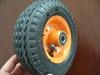 """Good quality pneumatic trolley wheels 6""""x2"""""""