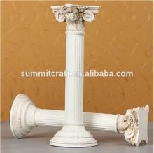 Resin material artificial decorative small roman vintage column craft