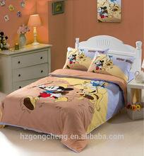 Beautiful Children Fairy Bedding Set 3pcs, Quilt Cover, Bed Sheet, Pillow Case, Cartoon Design, Reactive Print
