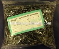 22UF 50V electrolytic capacitor,50V 22UF microfarad capacitors 5*11mm