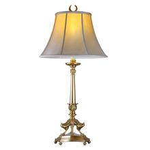 China manufacturer government house antique brass light desk/aqua home decor