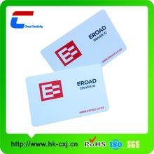 ISO 15693 rfid card pvc material both sides printed i code 2 rfid card