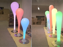 Coolqing Rechargeable RGB Luminous jcpenney floor lamps