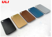 Hot selling brushed aluminum metal cell phone cases for iphone 4 5