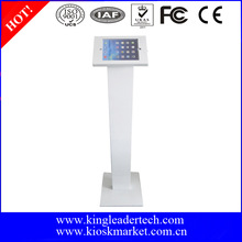 Lockable anti-theft kiosk ipad floor stand for ipad