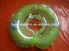 Ring neck PVC inflável para o bebê natação, Inflável do bebê pescoço anel do flutuador para a promoção