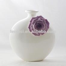 modern art ceramic vase for home decoration