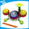 Children musical instrument kids plastic drum set toy