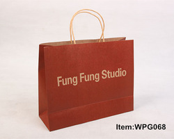 fancy craft wholesale paper shopping bags