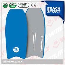 Nuevo 2014 venta caliente de la marca winmax playa deporte de equipo de buceo eps/xpe/polietileno de alta densidad 44' profesional tabla de surf
