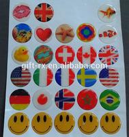epoxy resin craft stickers