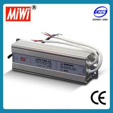 LPV-100-12 IP67 100w 12v power supply waterproof