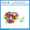 Practical Plastic Label Promotional Paper Key Tags