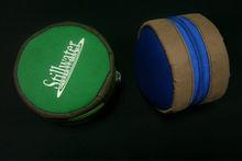 hot sale new design Shockproof fashion neoprene zip fly fishing reel case