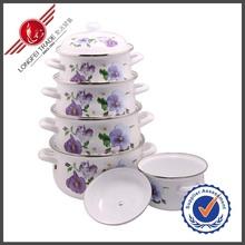 18 20 22 24 26CM Cooking Set Turkish Enamel Clay Pots Wholesale