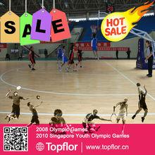 Portable Basketball Flooring Used PVC Vinyl Sports Flooring For basketball