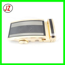 supply high quality gold custom logo automatic magnetic fashion wholesaler belt loop metal buckle