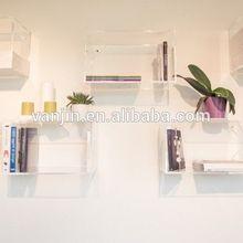 All-Purpose Use Wall Shelves Plexiglass