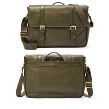 2014 Fashion Vintage genuine Leather Men Messenger envelope crossbody Bag