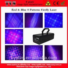 High bright home party laser light red & blue multi-pattern laser light laser show equipment