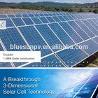 Bluesun High quality easy installation 5kw solar electricity generating system