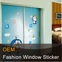 Static removable window decals for kids windows stickers